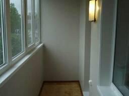 Отделка балкона - фото 1
