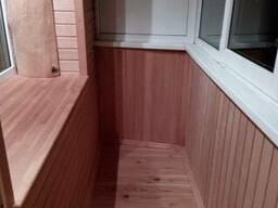 Все для отделки балкона, сауны