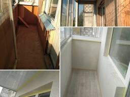 Отделка балконов и лоджий в Гомеле