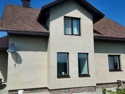Отделка и утепление фасада дома клинкерными термопанелями