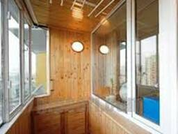 Отделка, утепление балконов и лоджий.