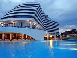 Отдых на море в Турции Titanic Beach Lara 5 * ультра все включено