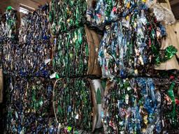 Отходы ПЭТ бутылки прессованные
