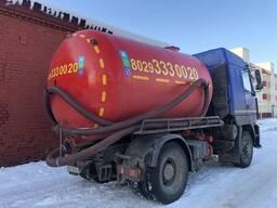 Откачка канализационных ям в Жодино и Смолевичи