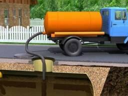 Откачка канализации до 22 метров.