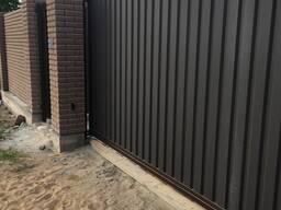 Изготовление и монтаж откатных, распашных, секционных ворот, калиток с автоматикой Dea