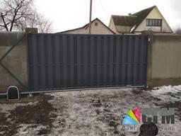 Откатные ворота по низким ценам - фото 2