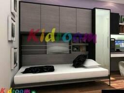 Откидная шкаф-кровать трансформер для спальни под заказ