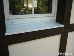 Отлив оконный белый (шириной 240 мм)