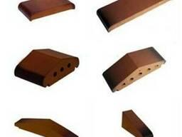 Отливы керамические для ограждений/заборов