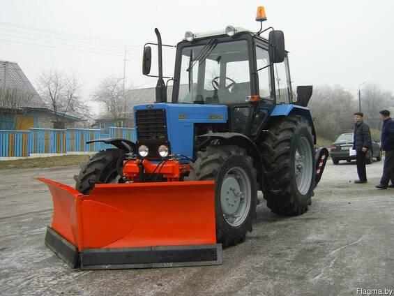 Отвал нту-10 к трактору мтз-82, мтз-1221