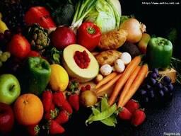 Овощи и фрукты опт на РФ