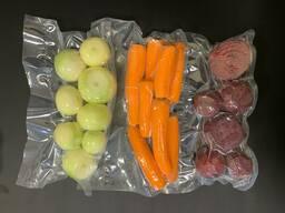 Овощи в вакуумной упаковке: картофель, морковь, свекла, лук. Вес 1; 2; 5кг.