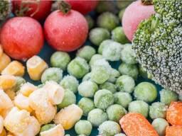 Овощи замороженные высокого качества