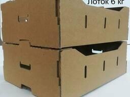 Ящик для фруктов (лоток под черешню) 6 кг