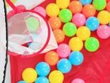Палатка-манеж игровая детская с баскетбольным кольцом (50 шариков) - фото 1