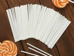Палочки для кейкпопсов 12 см 20 шт. бумага пресс.