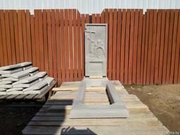 Памятник из ультрабетона. Цветочница.