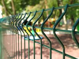 Панельные металлические ограждения 3D
