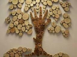 Панно из массива дерева
