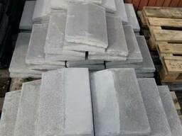 Парапет бетонный крышки на забор