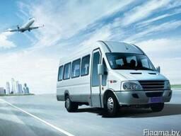 Пассажироперевозки, микроавтобус с водителем. Борисов, Минск