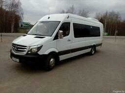 Пассажирские перевозки комфортабельными микроавтобусами