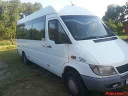 Пассажирские перевозки микроавтобусами Мерседес 15-20 мест