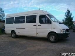Пассажирские перевозки микроавтобусом до 13 мест.