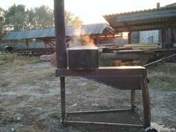 Печь металическая