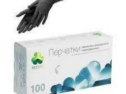 Перчатки нитриловые неопудр. (S, M, L, XL) черные