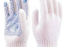 Перчатки трикотажные специальные с ПВХ покрытием