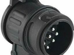 Переходник фаркоп 13/7 контактов pin адаптер для розетки фар