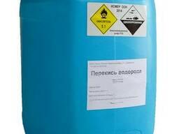 Перекись водорода 37%, канистра 34кг