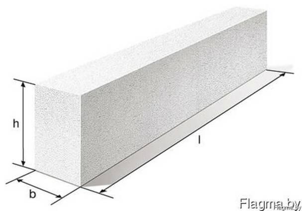 Перемычка брусковая из бетона купить калькулятор площади бетона