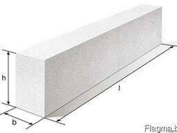 Перемычки брусковая из ячеистого бетона