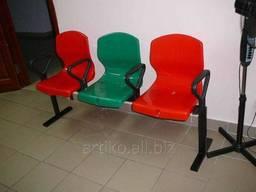 Секция пластиковых сидений для открытых площадок с. ..