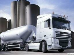 Перевозка цемента спецавтотранспортом (россыпью)