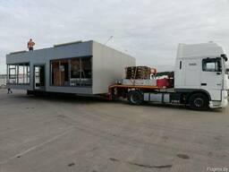 Перевозка павильонов и модульных домов