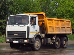 Вывоз, перевозка строительного мусора самосвалами в Витебске