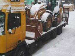 Перевозка спецтеники до 15 тонн.