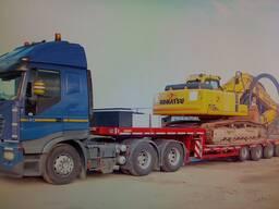 Перевозка строительных машин