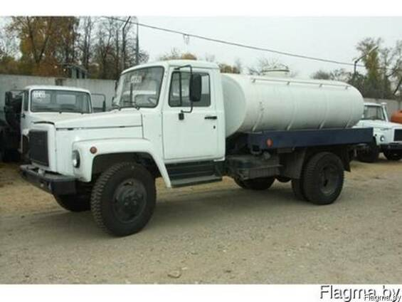 Перевозка технической воды ГАЗ 3307