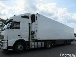 Перевозка температурных грузов рефрижераторами