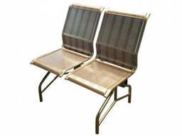 Металлические перфорированные сидения, эргономичные
