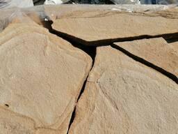 """Песчаник бежевый """"сухое дерево"""" 3 см."""