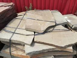 Натурал. камень песчаник крупноформатный (пошаговый) 5-6 см