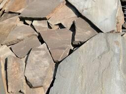 """Песчаник """"опавшая листва"""" 2 см."""