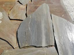 Песчаник серо-синий 3 см.