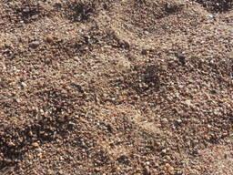 Песчано-гравийная смесь. Доставка самосвалом.